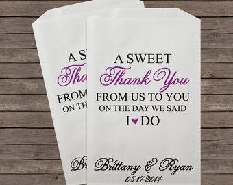 Wedding Favor Bag Candy Buffet Bags Bar Favors