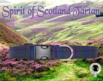 Spirit of Scotland Tartan Dog Collar