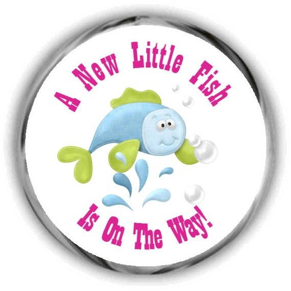 items similar to baby shower stickers fishing theme sticker favors