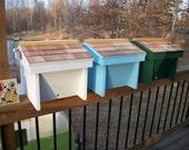 Top Bar Nuc  Bee Hive w/8 top bars w/Observation Window Nucleus Beehive