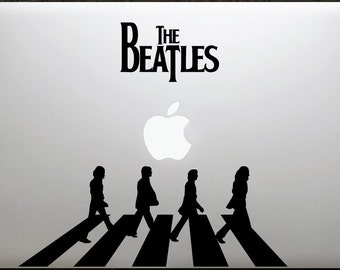 Laptop decal – Laptop Sticker – Macbook Pro decal – Macbook Air decal – Car window - The Beatles - Abbey road