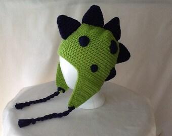 Dino Ear Flapper Hat