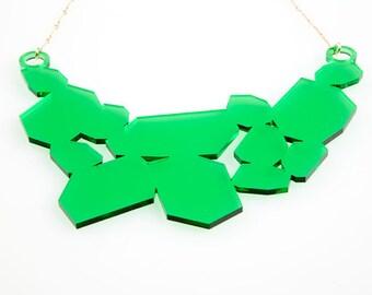 Fin de Siècle: Renaissance Necklace Emerald