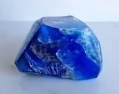 Lapis Lazuli-Throat Healing Chakra-Mineral Soap 4 to 4.5oz
