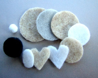 Essential Oil Diffuser Necklace Replacement Pads or Pom Poms