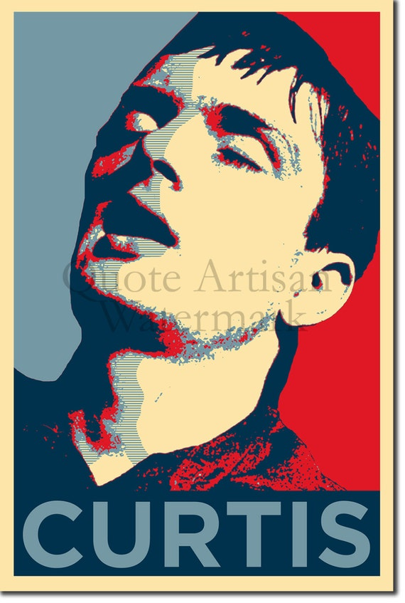 Ian Curtis Original Art Print 12x8 Inch Photo by QuoteArtisan
