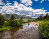 Colorado River in Rocky Mountain National Park. #2071