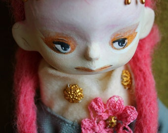 Rose - one of a kind art doll