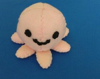 Plush Handsewn Octopus