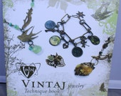 Vintaj Jewelry Techniques Book, Metal Jewelry How to Book, Metal Jewelry Making, DIY Jewelry Book