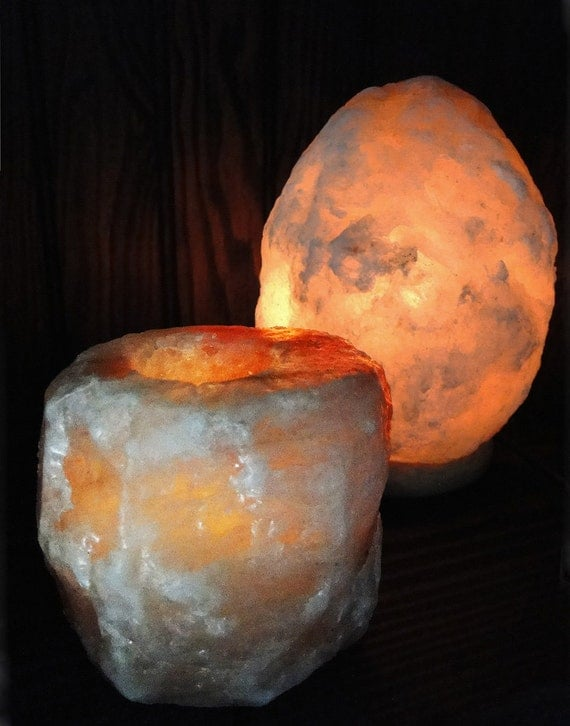 Salt Lamps Negative Energy : Himalayan Salt Lamp Candle Holder