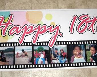 Banner Personalized Custom Banner Birthday Party Banner Business banner Advertising Banner Sale Banner