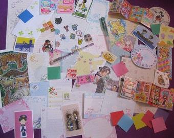 Super Cute Anime/Manga Paper Ephemera (set J)