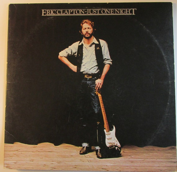 Eric Clapton Just One Night 2 lp live set