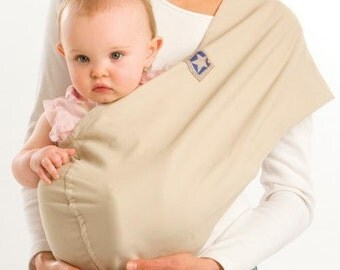 Hemp/Cotton GET CELEB STYLE!!  Pouch Baby Sling Carrier