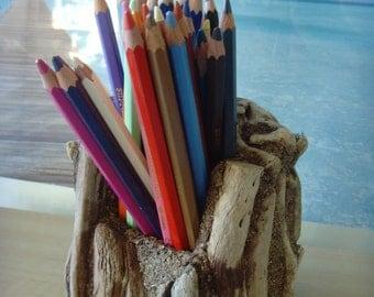 Driftwood Pen/Desk Tidy