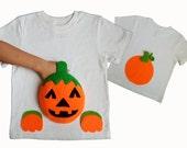 pumpkin shirt, pumpkin patch, cute Halloween baby shirt, Halloween shirt, pumpkin applique, toddler Halloween clothes, pumpkin birthday,fall