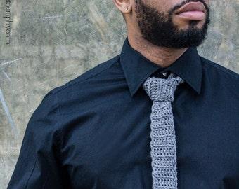 Handmade Crochet Necktie