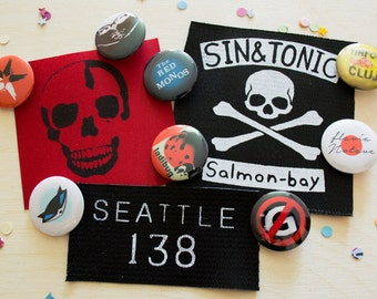 Delsin's Patches and Pins Set
