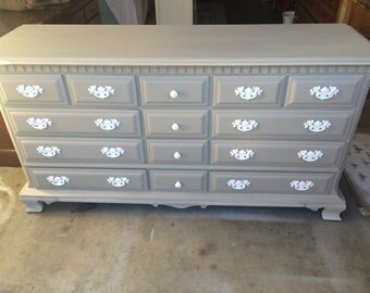 PORTFOLIO - Grey Dresser, Nursery, Changing table, Buffet, Credenza, TV Stand, Bedset