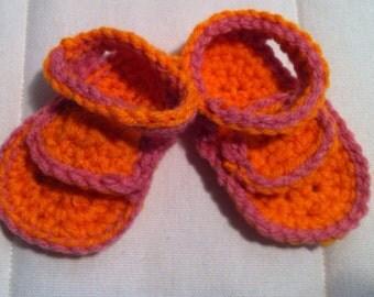 Newborn Girl Summer Sandals