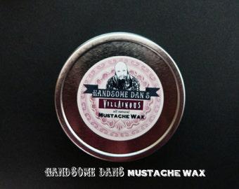 Villainous Mustache Wax 2 oz Screw Top Tin
