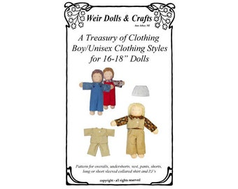Waldorf Doll Boy Clothing Patterns