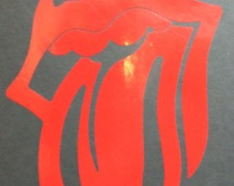 Rolling Stones Tongue Window Vinyl!