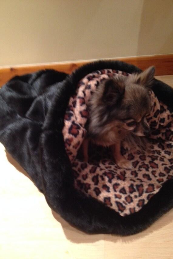 lit douillet sac chien pour chien chihuahua. Black Bedroom Furniture Sets. Home Design Ideas