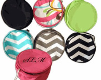 Monogrammed Jewerly Bags