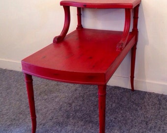 POPPY / painted side table