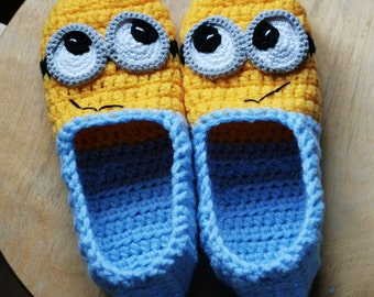 Crochet slippers - Adult sizes - PATTERN - PDF FILE!