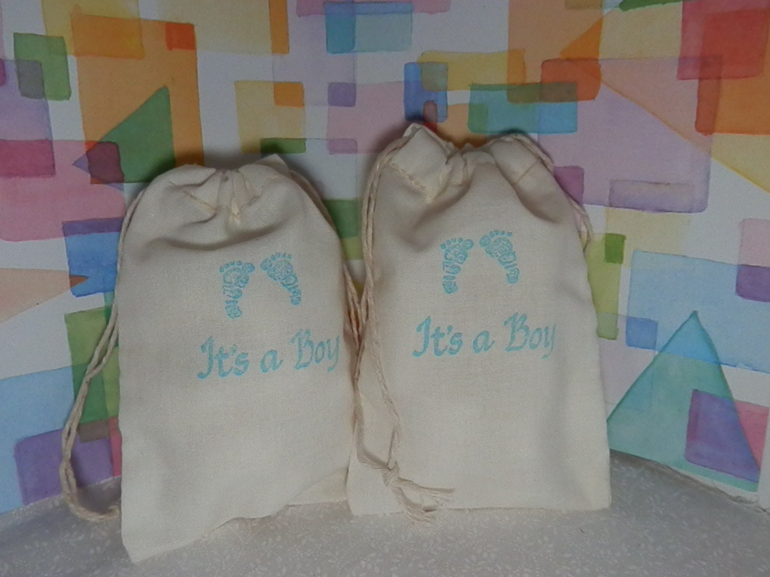baby shower favors shower gift bags 4 x 6 party by baggingitup