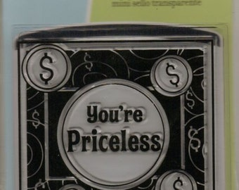 Inkadinkado YOU'RE PRICELESS Stamps