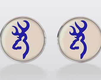 Deer Cufflinks, cuff links, men cuff links, deer, royal, wedding, groom, groomsmen,wedding cufflinks,vintage, vintage style
