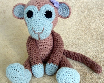 Crochet Monkey Kiki