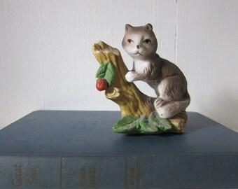 Vintage Ceramic Squirrel Figurine