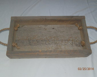 Barn wood box