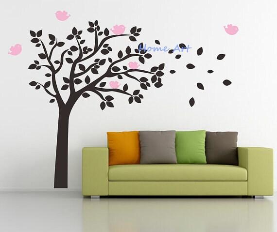 Schablone Wand Baum Großer Baum Wand Aufkleber