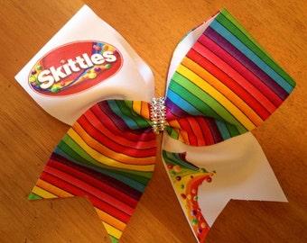CANDY Cheer bow , cheerbows , #itsabellabow, Bella bows, cheerleader , fun cheer bows, cool cheer bows