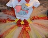 Disney's Dumbo tutu with matching headband