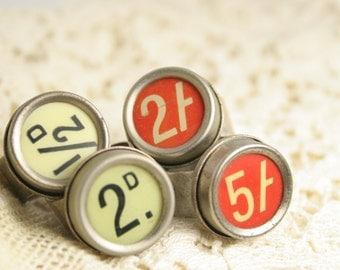 Statement Ring - Vintage - Cash Register Key