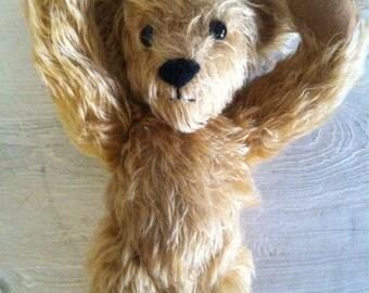 Vintage 12 inch mohair bear
