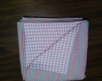 Double layered Receiving Blankets