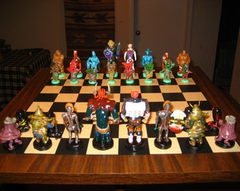 CUSTOM CHESS SETS - Made to Order!!!