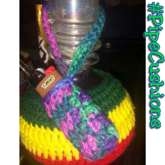Lighter leash to keep sticky fingers or forgetful memories or for Paracord lighter holder