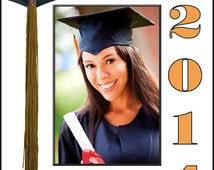 Custom college paper photo frames 4x6