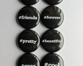Best Friends Flatback Flair Buttons
