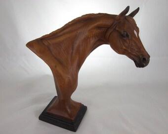 Beautiful Equestrian Sculpture By Pat Kasper