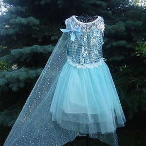 Frozen Dress, Elsa Dress, Elsa costume 6